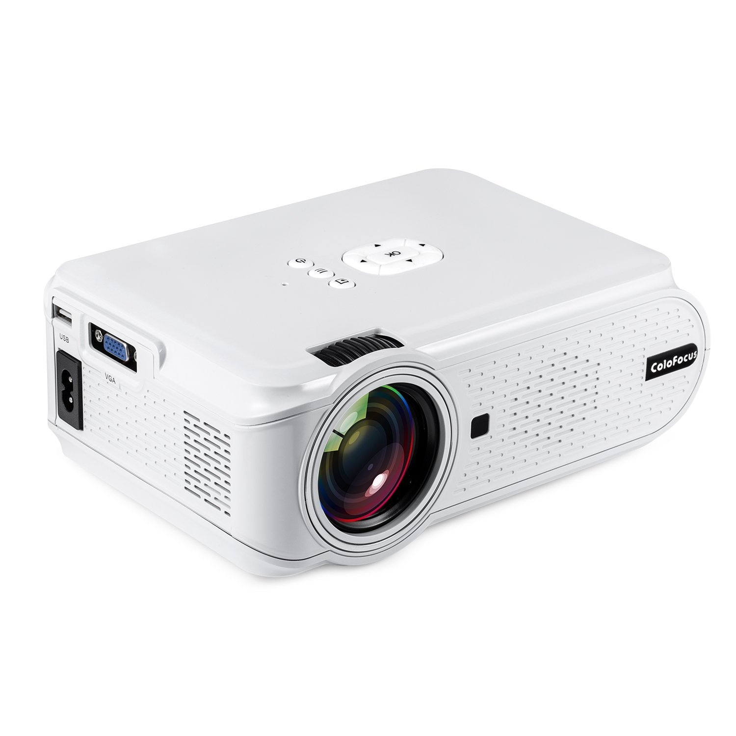Hd projector home video mini projector with 1080p for Small projector for laptop
