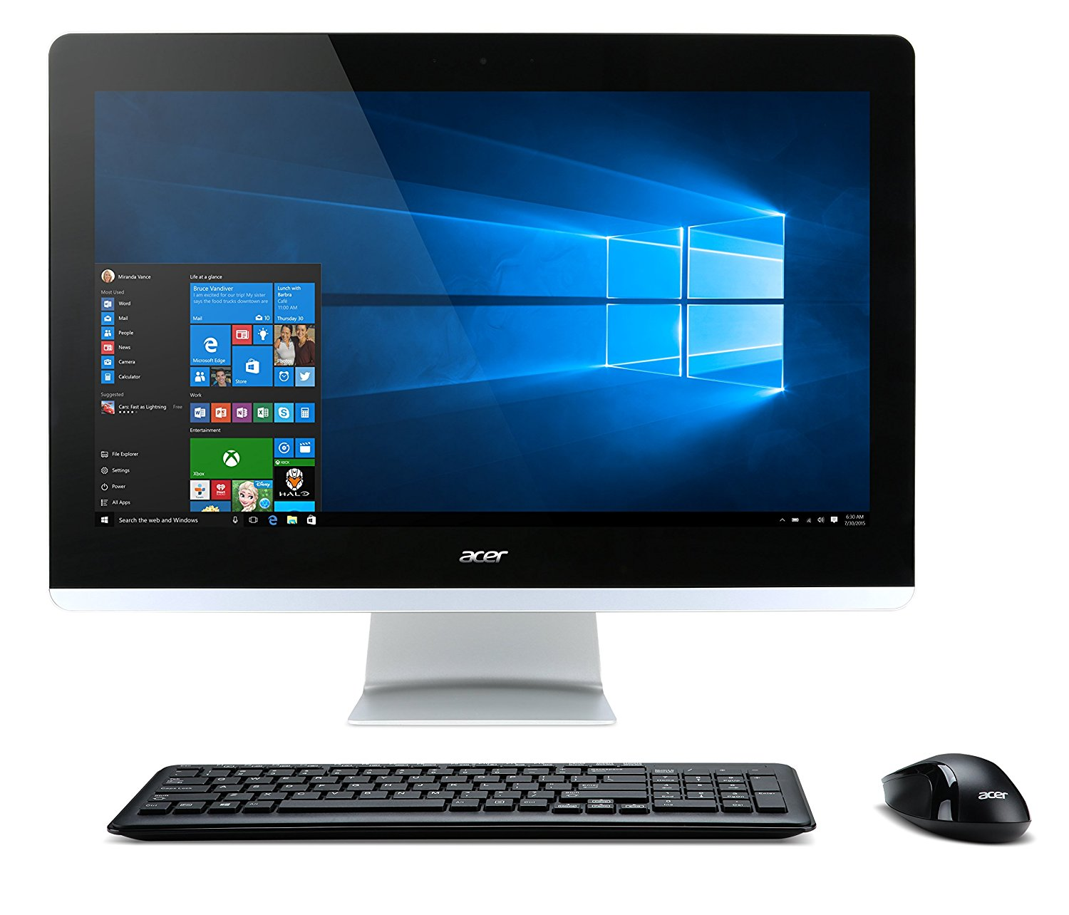 "Acer Aspire AIO Touch Desktop, 23.8"" Full HD Touch, Intel"
