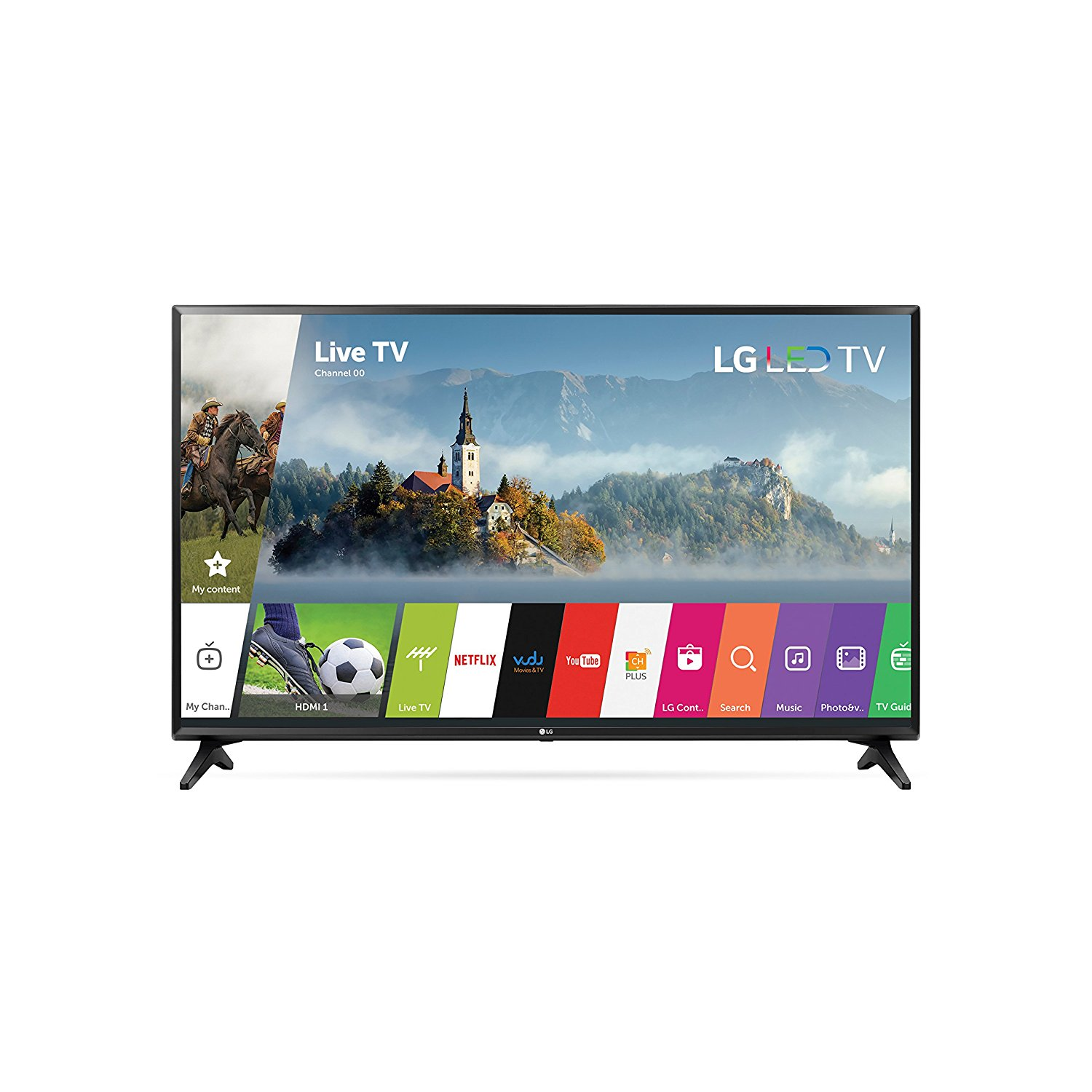 Lg Electronics 43lj5500 43 Inch 1080p Smart Led Tv 2017